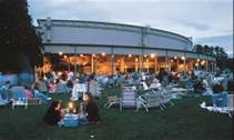 The grounds at Tanglewood