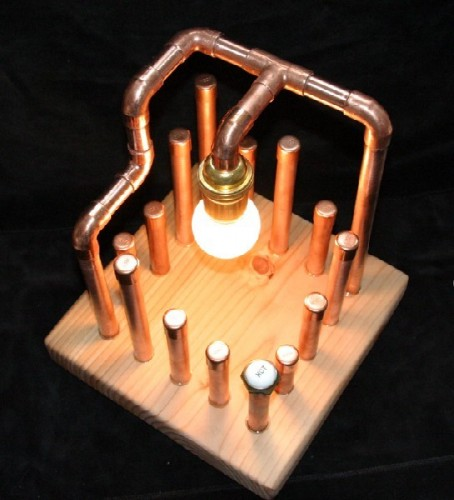 Copper Pipe Art Projects