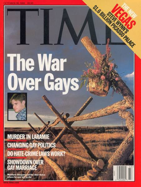 Following the death of Matthew Shepherd, America came to grips with gay hate ...
