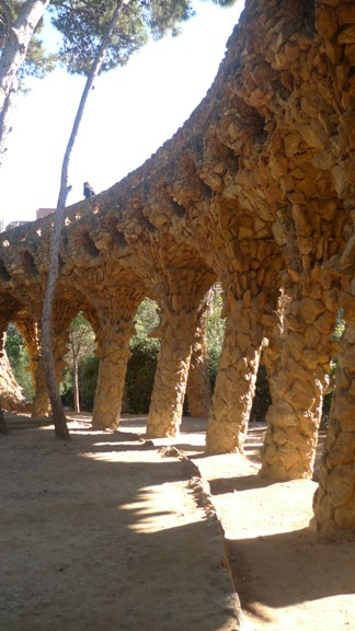 Park Guell by Gaudi