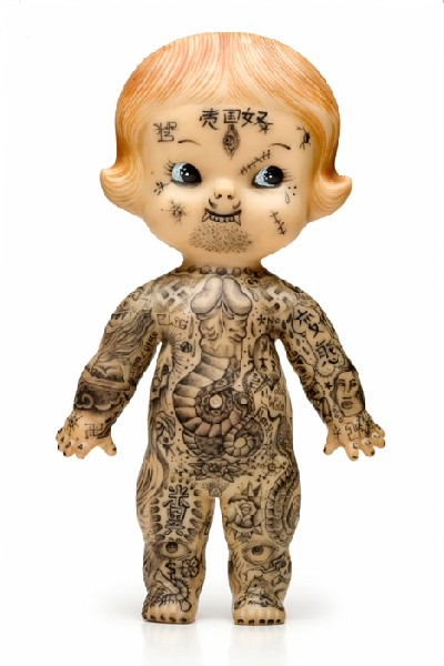 Kewpie Doll with Tatts.