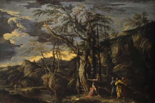 Claude Lorrain Landscape Drawings from the British Museum at the Clark - Image 8