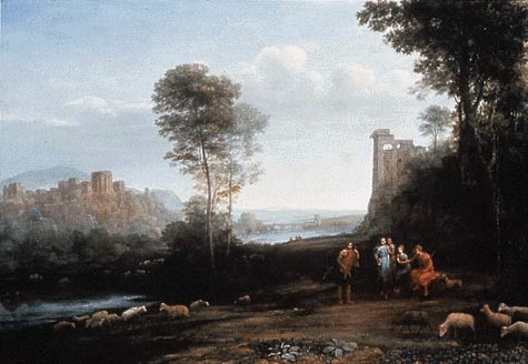 Claude Lorrain Landscape Drawings from the British Museum at the Clark - Image 9