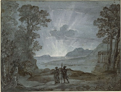 Claude Lorrain Landscape Drawings from the British Museum at the Clark - Image 10