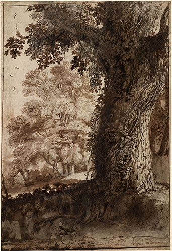 Claude Lorrain Landscape Drawings from the British Museum at the Clark - Image 3