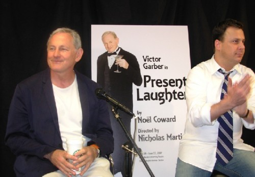 Victor Garber, Brooks Ashmanskas, and Pamela Gray Meet the Press - Image 4