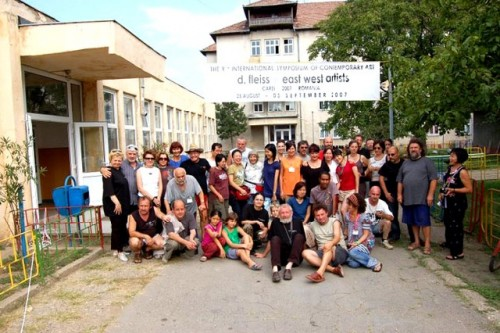 Sixty International Contemporary Artists Meet in Carei, Romania   - Image 1