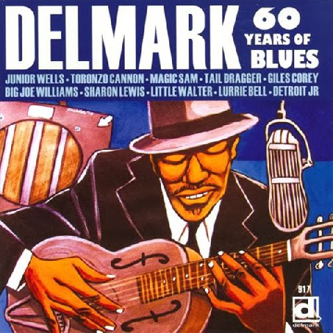 60 Years of Blues- Delmark CD DE917