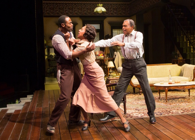 A review of august wilsons stage play the piano lesson