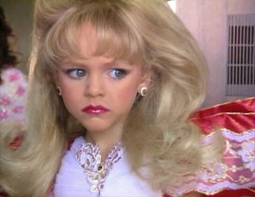 documentary chronicled children's beauty pageants. Screen capture