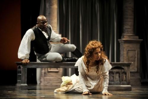 Symbolism in last scene of Act 5 in Othello? Help pls :)?