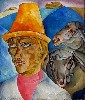 Chase discovered three paintings by the Russian artist Boris Grigoriev.