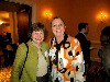 Two ladies from Mass. College of Art: Left, Katherine Sloan, President, and Jana Longacre, faculty member.