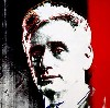 The Rose painting by Andy Warhol depicts former Supreme Court Chief Justice Louis Brandeis.