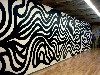 Wall drawing by Sol Lewitt.