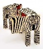 "John Makepeace Pair of Zebra Cabinets 2010, black oak and holly marquetry, burnished lacquer 36x36x18"" each"