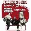Folksingers 'round Harvard Square, Joan Baez, Bill Wood and Ted Alevizos