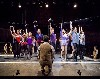 Watching a rehearsal of A Chorus Line.