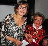 Dr. Ruth with Julianne Boyd.