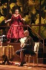Leslie Ann Bradley as Norina and Ricardo Lugo as Don Pasquale in a scene from Boston Midsummer Opera's production of Don Pasquale, Donizetti's sparkling comic masterpiece, playing at the Tsai Performance Center at Boston University.