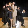 The brilliant cast of 39 Steps. Kevin Sprague images.