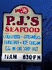 P.J.s is a popular clam shack.