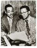 Duke Ellington and his invaluable but often abused collaborator Billy Strayhorn.