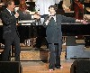 Liza Minnelli joined Michael Feinstein at Tanglewood. (Hillary Scott BSO photo)