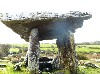Poulnabrone, most famous of 90 megalithic tombs.