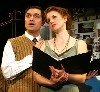 Nathan L Freeman and Natalie Beck in the Gershwin musical.