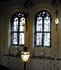 Interior view of windows