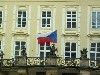 The Czech flag