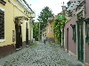 Back street in Szentendre