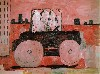City Limits by Philip Guston.