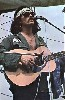 A surviving Woodstock image of Country Joe.