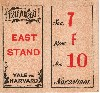1901 Ticket Stub