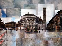Baptistry Florence - by: Charles Giuliano