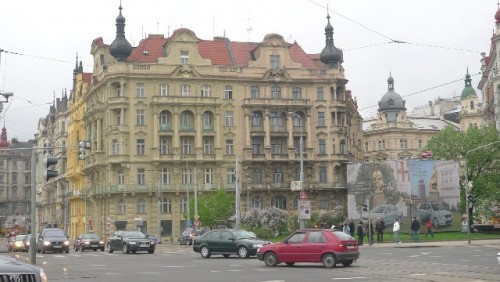 Prague's Dancing Building