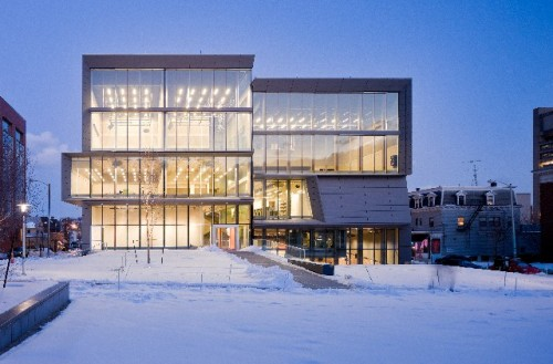 New Arts Building At Brown University