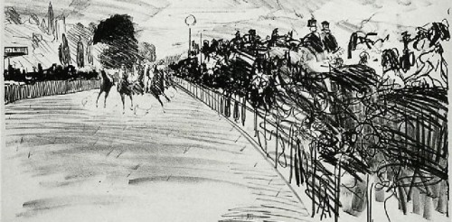At the Races, c. 1870