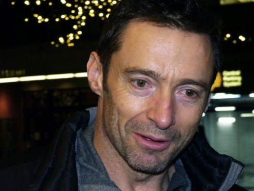 Hugh Jackman in The River