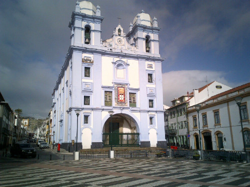 Misericordia Church in Angra do herismo
