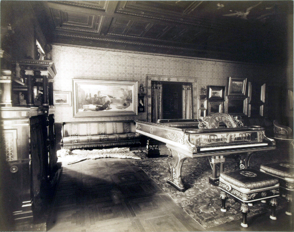 The Marquand music room.