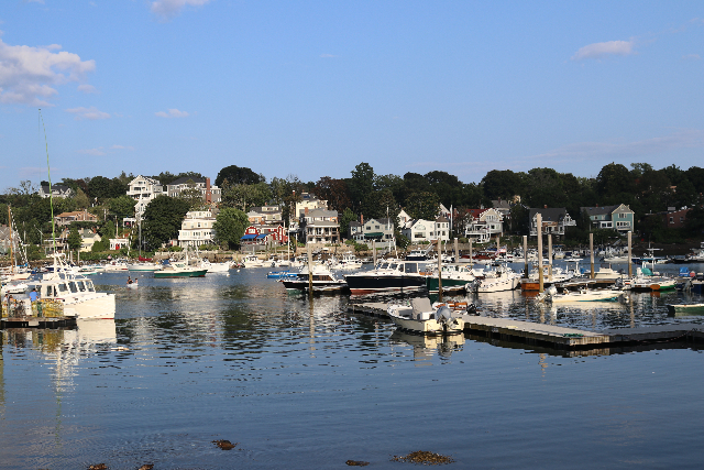 Rockport harbor.