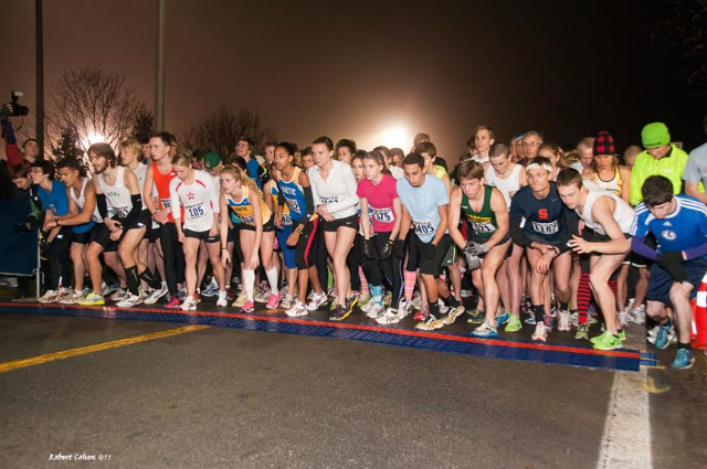 5k roadrace at Skidmore