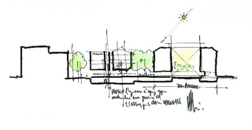 Isabella Stewart Gardner Museum Expansion Drawing