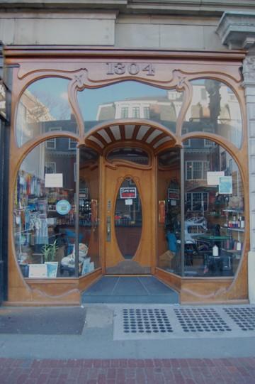 Rare Art Nouveau Shopfront Survives In Harvard Square